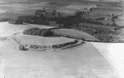 Wittenham Clumps, Oxfordshire 1939 (Album Ref 19, 38)