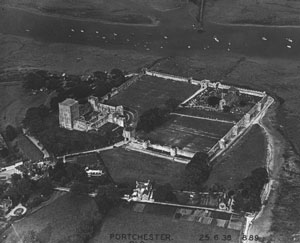 Porchester Castle 1938 (Album Ref 16, 10)