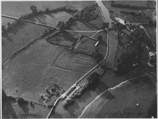 Aerial photograph of Godstow Abbey (Click to enlarge)