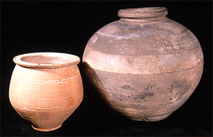Two Roman Pots from Founding Collection (Click to enlarge)
