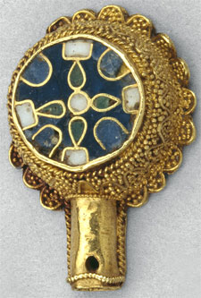 Minster Lovell Jewel (Click to enlarge)
