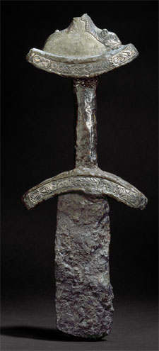 Anglo-Saxon Sword from Abingdon (Click to enlarge)