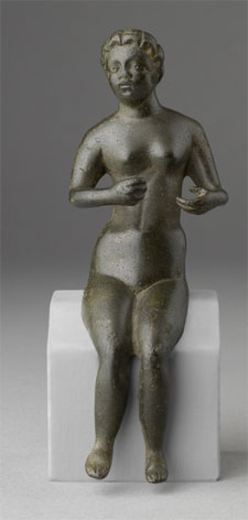 Seated figure of Venus (Click for back view)