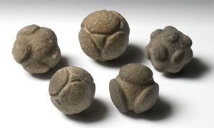 Neolithic Stone Balls (Click to enlarge)