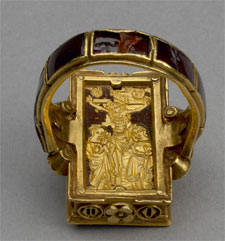 Reverse of Thame Reliquary Ring