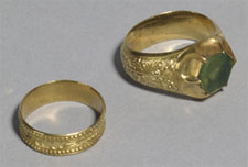 Rings from Thame Hoard