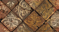 Tiles from Godstow Abbey