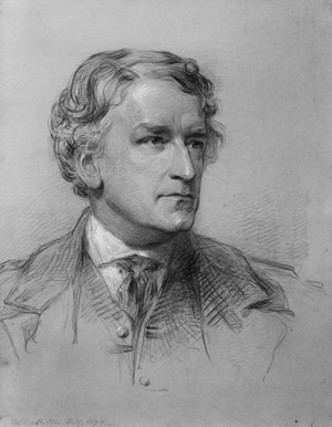 Portrait of George Rolleston by William Edwards Miller (Click to enlarge)