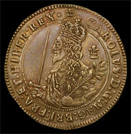 Charles I Three Pound Coin