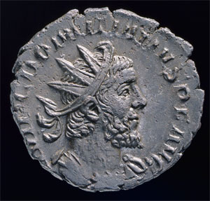 Domitianus Coin (Click to enlarge)